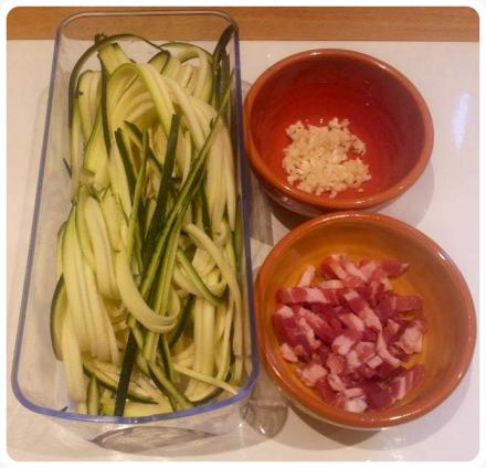 espaguetti de calabacin