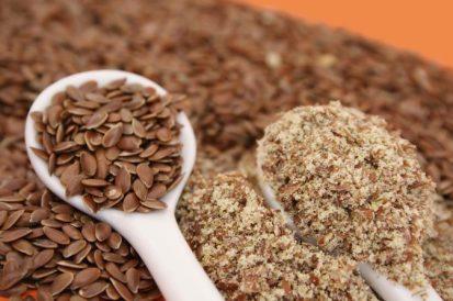 semillas de lino molidas