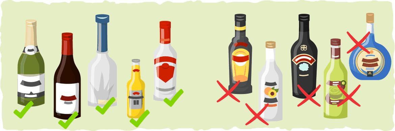 Qué bebidas alcohólicas están permitidas en la dieta ceto